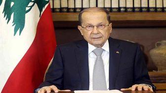 پیام توئیتری «میشل عون» درباره حمایت کویت از دولت لبنان