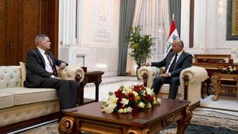 دیدار سفیر آمریکا با برهم صالح