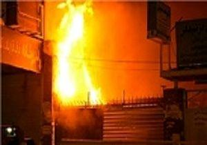 نجات جان 5 شهروند قمی از میان شعله های آتش