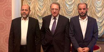 مقامات حماس با معاون وزیر خارجه روسیه دیدار کردند