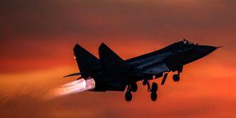 رهگیری هواپیماهای آمریکا و انگلیس توسط جنگنده روسیه