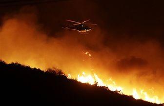 وقوع آتش سوزی گسترده در جنوب مصر