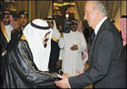 نفت عربستان پادشاه اسپانیا را به مراسم تدفین نایف کشاند
