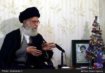 دیدار رهبر انقلاب اسلامی با خانواده شهید آشوری