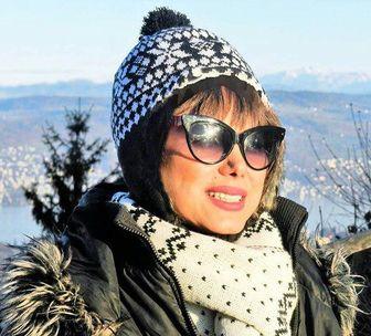 همسر مرحوم رضا ژیان در بیمارستان بستری شد /عکس