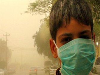 افزایش بیش از حد گرد و غبار در آسمان خوزستان