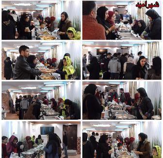 بازارچه خیریه غذاى شهرامید با هدف حمایت از نیازمندان برگزار شد