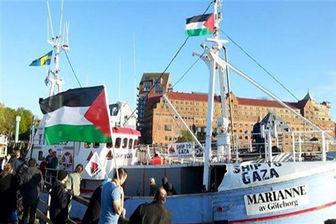 ادامه راهپیمایی هایی دریایی مردم غزه