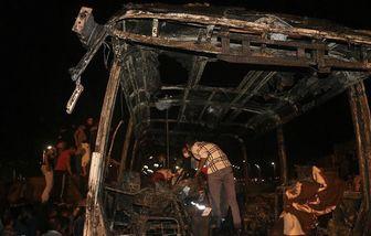 """فرماندار سنندج: تصادف تانکر نفتکش با اتوبوس مسافربری """"هیچگونه"""" ارتباطی به سپاه ندارد"""