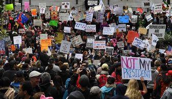 تظاهرات ایرانی های مقیم آمریکا