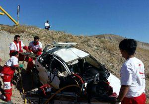 4 کشته و مجروح در محور شازند - اراک
