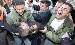 حمله جنگندههای اسرائیلی به فلسطینیها