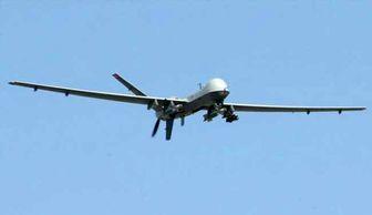 سرنگونی هواپیمای جاسوسی اسرائیل بر فراز غزه