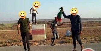 رودست جوانان فلسطینی به نظامیان صهیونیستی در مرز غزه