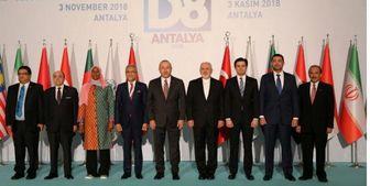 ظریف در نشست کشورهای D۸ شرکت کرد