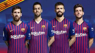 کاپیتانهای بارسلونا معرفی شدند