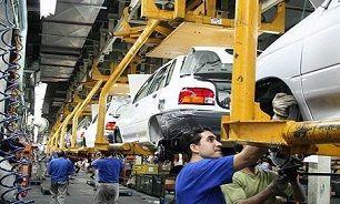 تولید خودرو ۶۰ درصد کاهش یافت