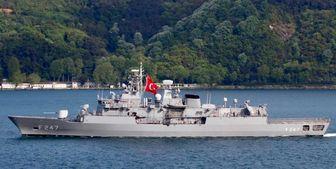 درگیری دو کشتی جنگی یونان و ترکیه در دریای مدیترانه
