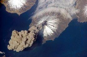پیشبینی فوران آتشفشانی با ماهوارهها
