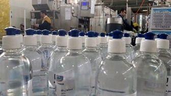توزیع محلول ضدعفونی کننده ۹۹ درصد آب، توسط شهرداری بین اقشار نیازمند