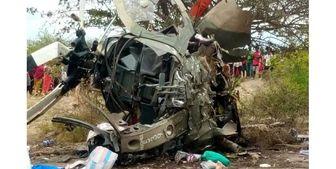 سقوط «بالگرد آمریکایی» ارتش کنیا به دلایل نامعلوم