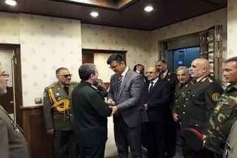 دیدار معاون سیاسی وزارت دفاع افغانستان با سردار نظامی