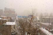 بارش برف در اردبیل تا پنجشنبه ادامه دارد