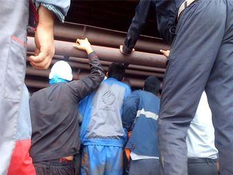مرگ کارگر سیرجانی حین تعمیرات در مجتمع جهان فولاد/تصاویر