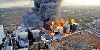 کشته در انفجار کارخانه مواد شیمیایی در غرب هند