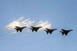 پرواز هواپیماهای آمریکایی بر فراز مقرهای حشدالشعبی