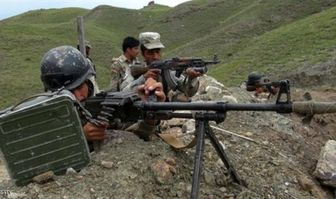 درگیری شدید نظامیان افغانستان و پاکستان در منطقه مرزی
