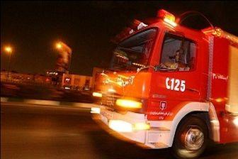 آتش کارگاه نجاری را سوزاند