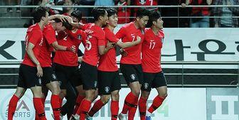 پیروزی ژاپن مقابل پاراگوئه