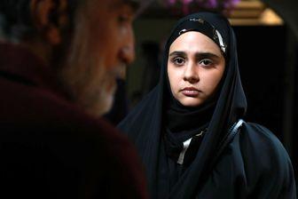 سلفی زهره در سریال احضار قبل گریم /عکس
