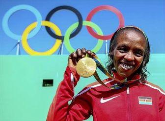 قهرمان ماراتن المپیک دوپینگی از آب درآمد