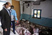 تکمیل اولین واحد مسکونی زلزله زده رامیان بعد از 20 روز