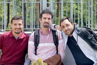 3 بازیگر معروفِ فوق لیسانسه،در یک قاب/ عکس