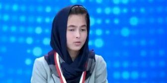 """""""دختر افغانستانی"""" پنجمین سخنران برتر نشست صلح ژاپن شد"""