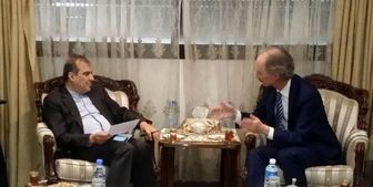 جزئیات رایزنی خاجی با نماینده دبیرکل سازمان ملل