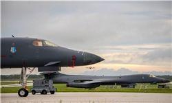 استقرار دو بمب افکن استراتژیک B1-B آمریکا در کره جنوبی