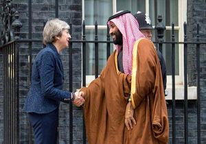هدیه غیرمنتظره ترزا می برای بن سلمان