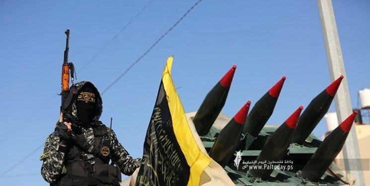 رژه نظامی سرایا القدس به مناسبت پیروزی مقاومت در نبرد اخیر غزه