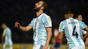 شکست خانگی آرژانتین مقابل پاراگوئه