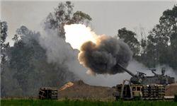 رژیم صهیونیستی به شرق غزه حمله کرد
