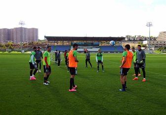 تیم ملی یک جلسه در ازبکستان تمرین میکند