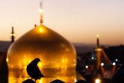 بارش باران در حرم امام رضا(ع) در شب عید مبعث/ فیلم