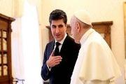 درخواست بارزانی از واتیکان برای حل مشکلات کردستان