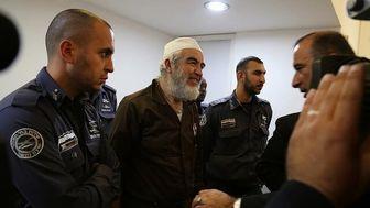 محکوم شدن رهبر جنبش اسلامی فلسطین به ۲۸ ماه حبس