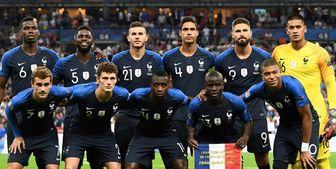 لیست بازیکنان تیم ملی فرانسه اعلام شد