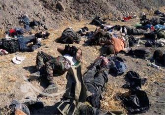 اجساد داعشیها اطراف سامراء را پر کرده